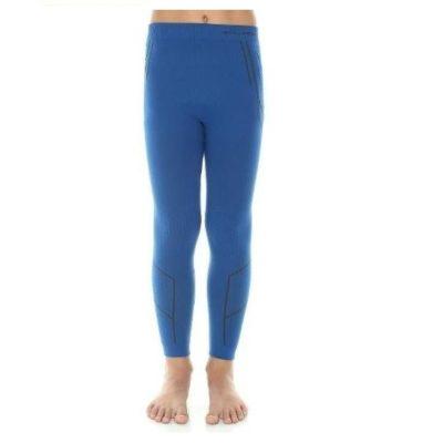 Spodnie dziecięce BRUBECK THERMO niebieskie