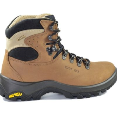 Damskie buty trekkingowe skórzane Red Rock 11407 brąz