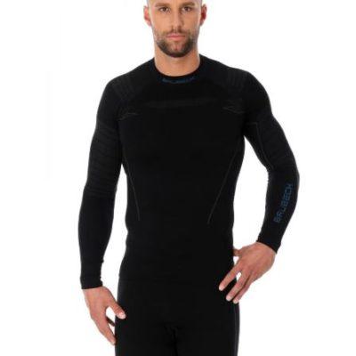 Bluza męska BRUBECK THERMO czarna