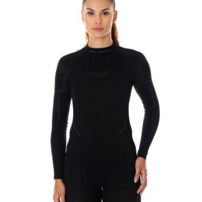 Bluza damska BRUBECK THERMO czarna