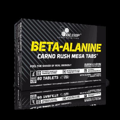 OLIMP BETA_ALANINE CARNO RUSH MEGA TABS 80 kaps.
