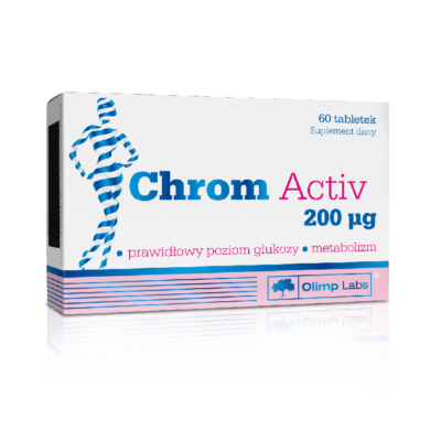 OLIMP CHROM ACTIVE 200 mikrogram 60 tab