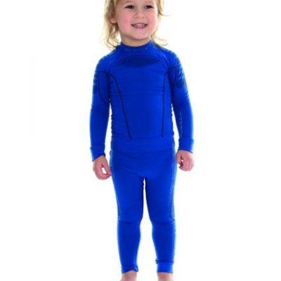 Bluza dziecięca BRUBECK THERMO niebieska