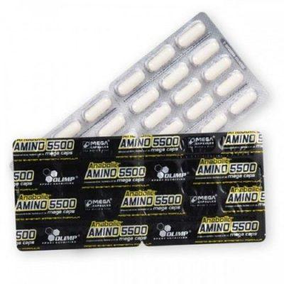 OLIMP Anabolic Amino 5500 Mega Caps blister 30 kaps.
