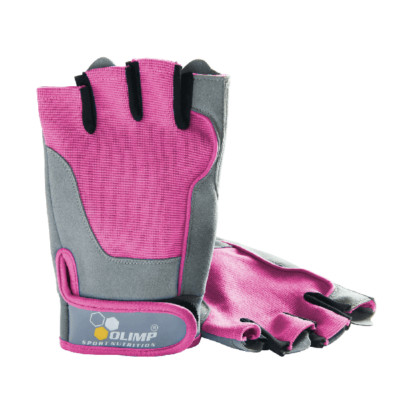 Rękawice OLIMP Fitness One różowe