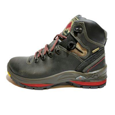 Buty trekkingowe trapery RED ROCK 13503 skórzane czarne