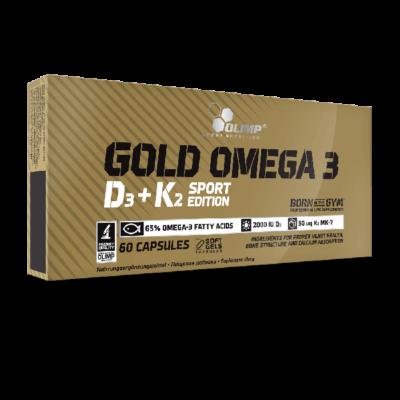 OLIMP Gold-Omega 3 D3+K2 Sport Edition 60 kaps