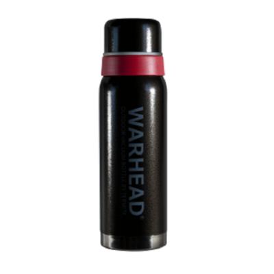 Termos 0,75 L TERMITE Warhead Hammertone czarny z czerwonym