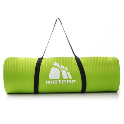 Mata Fitness METEOR NBR 183x61x1,5 cm zielona