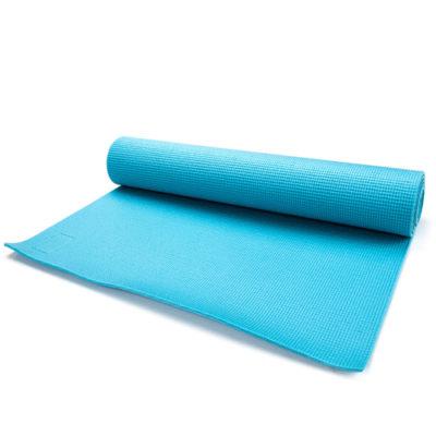 Mata YOGA METEOR 180x60x0,5 cm niebieska