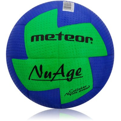 Piłka ręczna METEOR NUAGE damska #2 niebiesko-zielona