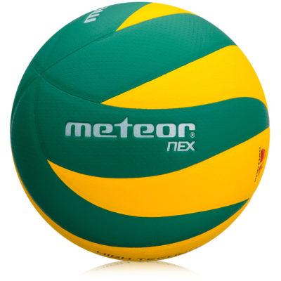 Piłka siatkowa METEOR NEX żółto-zielona