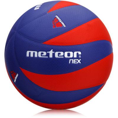 Piłka siatkowa METEOR NEX niebiesko-czerwona