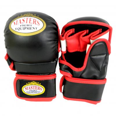 Rękawice do MMA GFS-2 MASTERS czarne roz. M
