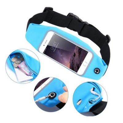 Saszetka opaska na drobiazgi i telefon do biegania 5,5″ różne kolory