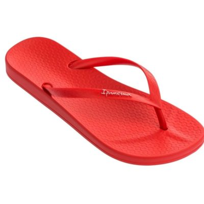 Japonki IPANEMA Anatomic Colors FEM czerwone