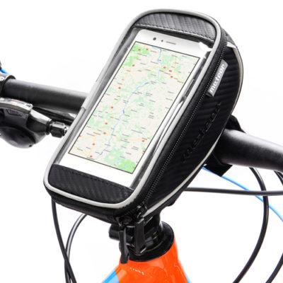 Sakwa rowerowa na kierownicę z etui na telefon METEOR FOTON