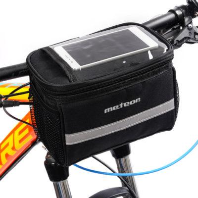Torba na kierownicę rowerowa METEOR BATURA 3,5 litra czarna
