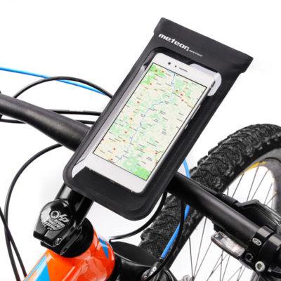 Wodoodporne etui rowerowe na telefon do 6″ METEOR CRIB