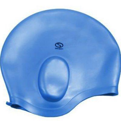 Czepek pływacki SMJ sport Ucho niebieski