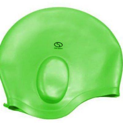 Czepek pływacki SMJ sport Ucho zielony