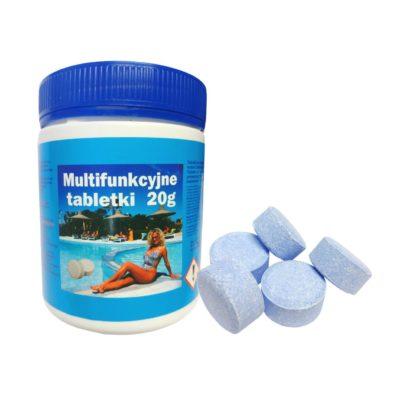 Multi tabletki 20g do basenu chlor 400g INTEX