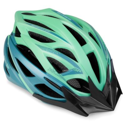 Kask rowerowy Spokey Femme zielono-niebieski rozm. 58 – 61 cm