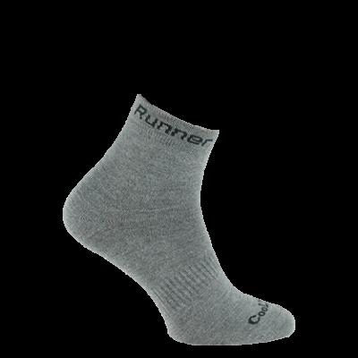 Skarpety Runner Expansive 43-46 szare