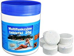 Chlor Multifunkcyjne tabletki do basenu